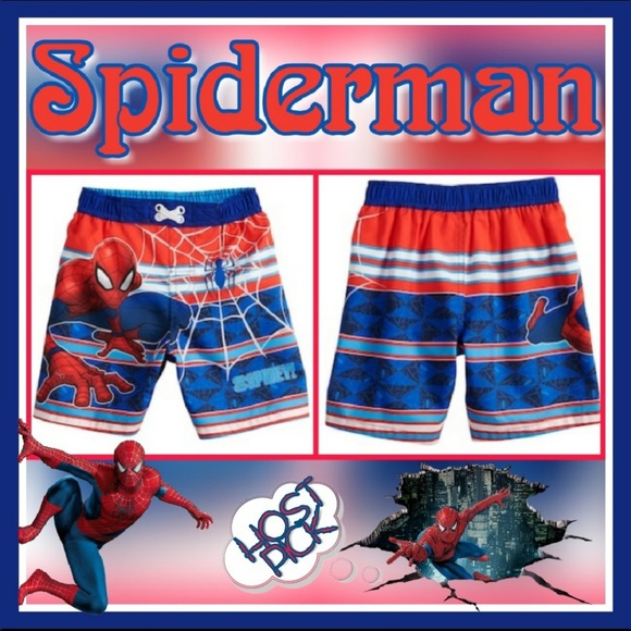 945a60f37dda5 Marvel Swim | Toddler Boy Spiderman Trunks Sz 2t | Poshmark